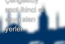 Üsküdar Çengelköy Spot İkinci El Eşya Alanlar ((0538 591 50 49))