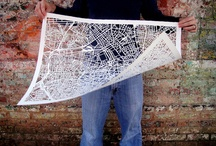 maps & art / by Emelie Johansson