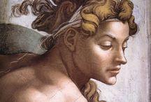 Art...Michelangelo / by Janet Klingler