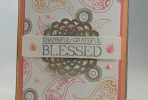STAMPIN UP PETALS AND PAISLEY