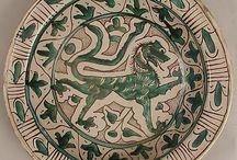 Włochy ceramika średniowieczna