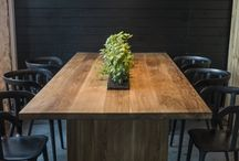 TABLES // In Wood We Trust