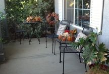 Fall decor / by Amy Hansberry