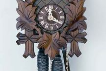 Cuckoo Clocks Carved Style / Beautiful Carved Cuckoo Clocks - you can find more on www.cuckoo-palace.com