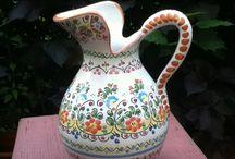 jarra en ceramica