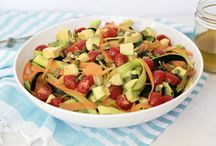 Rockin' Salads / Salad recipes that make it SUPEREASY to Eat Your Veggies!