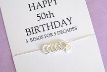 Birthday Jewelry ideas