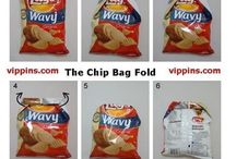 Clippin' chips bag without a clip