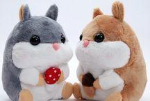 Kawaii - peluche mignonne - peluche Hamtaro - peluche Hamster
