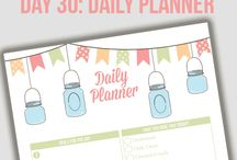 Planner printable / by Crystal Carruth