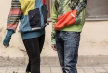 Kutyadolog design / Recycled, upcycled, hand made, D.I.Y., clothing Ökodesign, unique fashion style