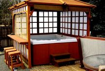 Gazebo hot tub