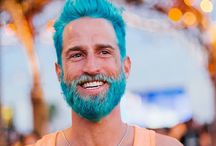 Merman: color beard