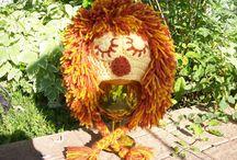 Crochet - Hats - Character/Novelty / by Rhonda Halstead