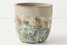 pottery, clay