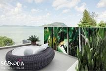 Brise-vue Jardimage / Idéal pour décorer vos balcons, jardins et terrasses et vous protéger du regard des curieux :)
