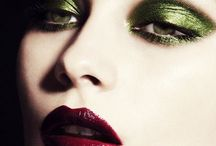 Going green story board makeup
