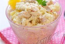 Recepty - saláty