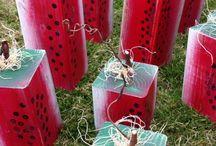 Summertime crafts