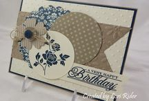 Birthday Cards / Cricut and Stamping / by Shelia Winfrey