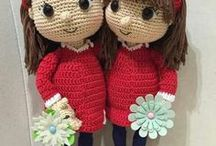 bonecas - croche