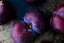 Plum Perfect ~ A Look At Dark Purple / A look at the color of purple plums.