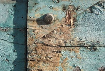 Tuscany Travel / Medieval hill towns offer amazing textures, patterns and mysterious opportunities. What's behind those keyholes? What is the history of that door?
