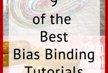 Quilt bindings / Methods