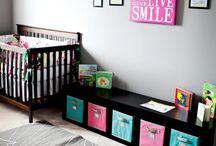 Baby girl or boy room ideas / by Rachel Stone