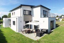 Nos clients témoignent / Marie et Henri, Jean et Michel, Marion et Florent... Ils viennent d'emménager dans leur nouvelle maison Trecobat. Une nouvelle vie commence ! Bravo à eux ! http://www.trecobat.fr/