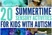 Sensory/Autism activities and art