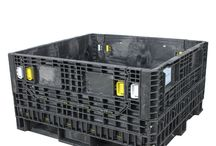 45 x 48 Bulk Containers / 45 x 48 bulk containers are built to handle any application. These 45 x 48 reusable bulk containers have weight capacities from 1,500 – 2,500 pounds, making them ideal for all types of product loads. http://www.rppcontainers.com/c/45-48-bulk-containers.html / by RPP Containers