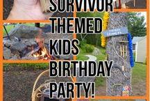 Survivor Birthday Party