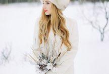 Winter fine art