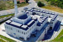 Turkey: Bogazkoy Mosque in Istanbul / Bogazkoy Mosque, Istanbul (Turkey) by Kucukcekmece Belediyesi  #Architecture #Mosque #StandingSeam #QuartzZinc #Zinc #VMZINC