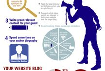 Blogging - Guest Posting / How to create valuable content you can share on guest posts. Writing tips for and benefits of guest posting on others' blogs.