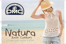 Que faire avec la Natura just Cotton de DMC ?