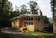 Mid-Century Ranch Style Houses by Catskill Farms / A selection of #Mid-Century #Ranch style #Houses by #CatskillFarms - #CatskillsRealEstate, #SaugertiesRealEstate, #CatskillRealEstate, #construction, #architecture, #SullivanCountyArchitecture, #UlsterCountyArchitecture, #DutchessCountyArchitecture