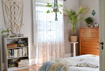 HOME / Flora and fauna in the home.  70's inspired interiors