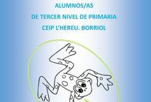 PaLaBrasAzuLes: ADIVINA ADIVINANZA / Trabajo de escritura creativa realizado por los alumnos de tercero del CEIP L'Hereu. Borriol. Noviembre de 2014.  Trabajo colaborativo.