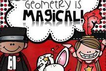 Homeschool: Geometry Board / by The Curvy Vegan