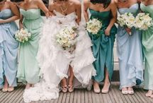 Beach Weddings Bournemouth -Spring 2014 / Relaxed and beachy with plenty  of natural elements but bringing in a subtle colour palette  of soft mint, turquoise and pale blue with accent colours of coral and pale shell pink