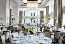 White Purple and Blue Modern Wedding Inspiration / M & J's wedding inspiration board
