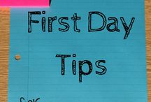 first day tips