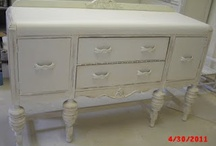 Past Projects, Shabby Chic Vintage Painted Furniture / Here is a gallery of pictures of pieces we have done in the past. Sorry these pieces are no longer available but please contact us to see if we have something for you. / by handpaintedfurniture