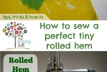Useful sewing tips