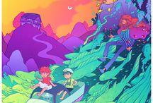 Ponyo/Cartoon Movies