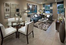 livingroom and dinning room