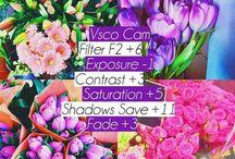 ~VSCO~ / vsco filters