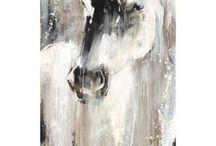 peinture cheval